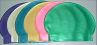 Picture fo Plain Latex Swim Cap (Pearlescent Colours)